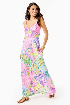 Lilly Pulitzer Maldives Maxi Dress - Product List Image