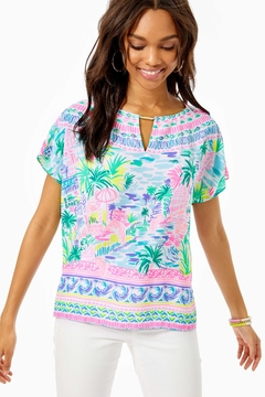 Lilly Pulitzer Manda Top - Product List Image