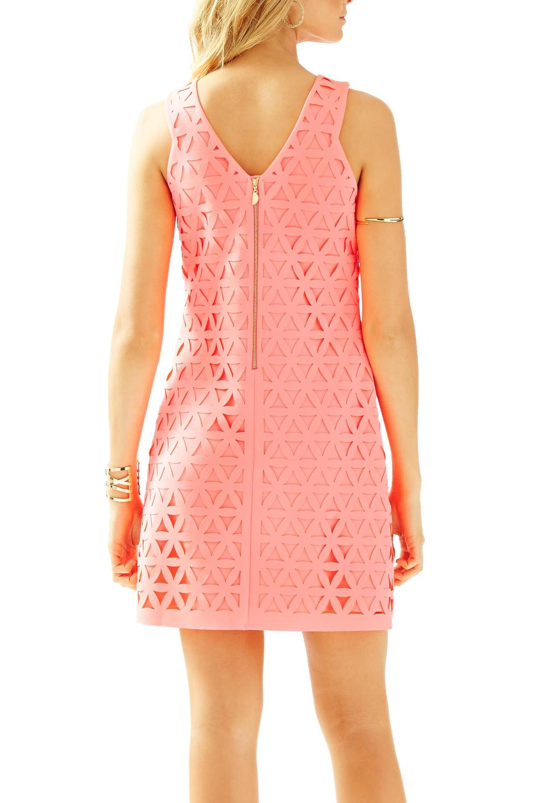 Lilly Pulitzer Mango Laser-Cut-Shift Dress from Sandestin Golf and ...
