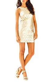 Lilly Pulitzer Mango Shift Dress - Back cropped