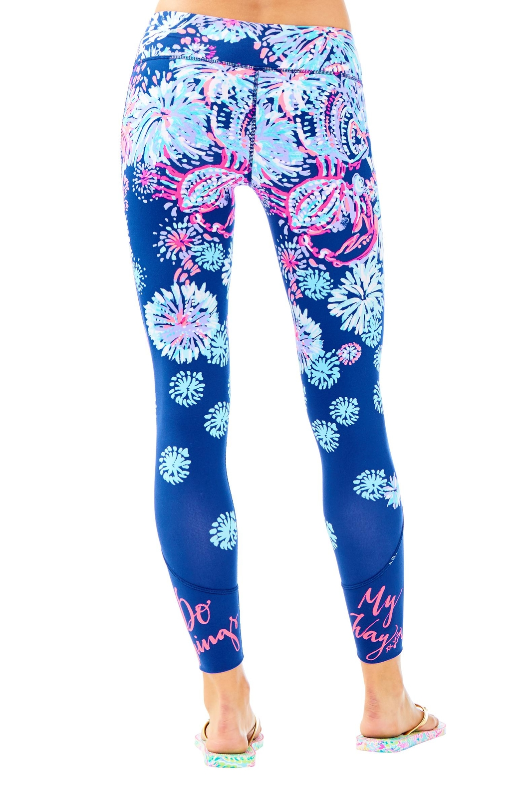 Lilly Pulitzer Maralyn Weekender Legging - Front Full Image