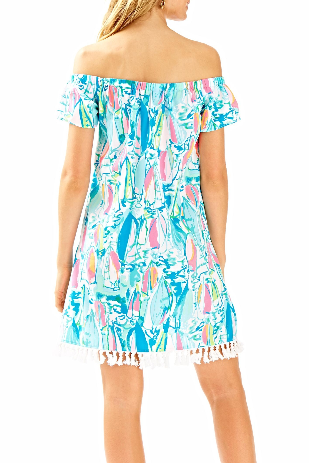 Lilly Pulitzer Marble Dress - Front Full Image