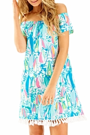 Lilly Pulitzer Marble Dress - Front cropped