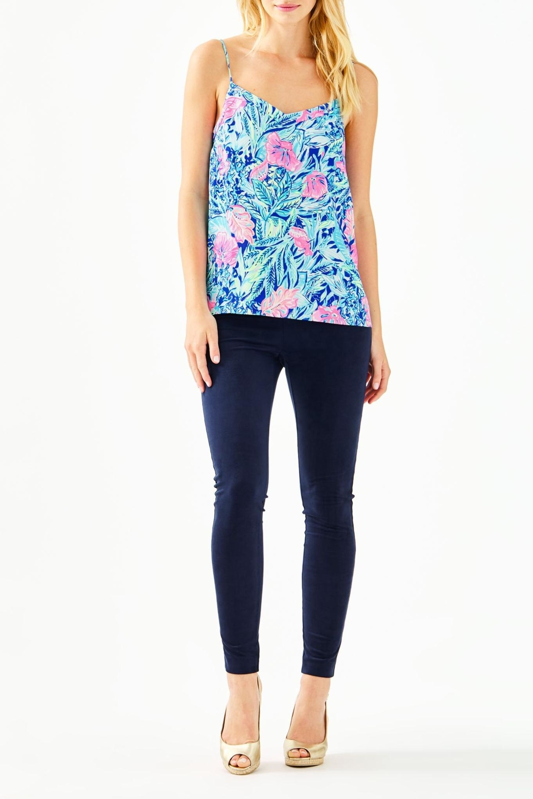 Lilly Pulitzer Margaery Cami - Side Cropped Image