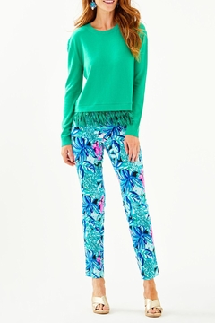 Lilly Pulitzer Marguerite Fringe Sweater - Alternate List Image