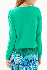 Lilly Pulitzer Marguerite Fringe Sweater - Front full body