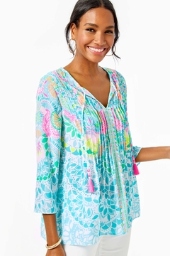 Lilly Pulitzer Marilina Tunic Top - Product List Image