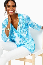 Lilly Pulitzer Marilina Tunic Top - Product Mini Image