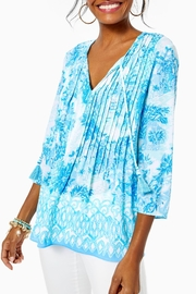 Lilly Pulitzer Marilina Tunic Top - Side cropped