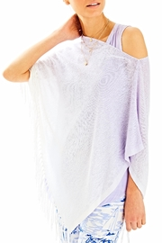 Lilly Pulitzer Marin Ombre Sweater Wrap - Product Mini Image