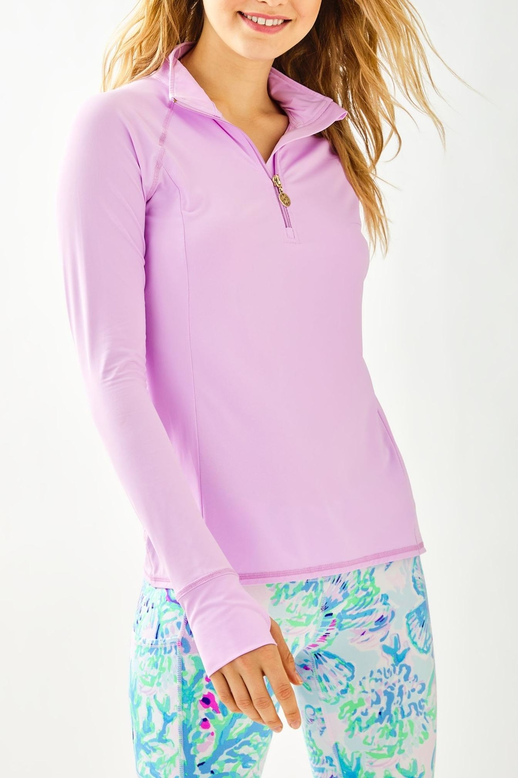 Lilly Pulitzer Luxletic Marion Popover - Main Image