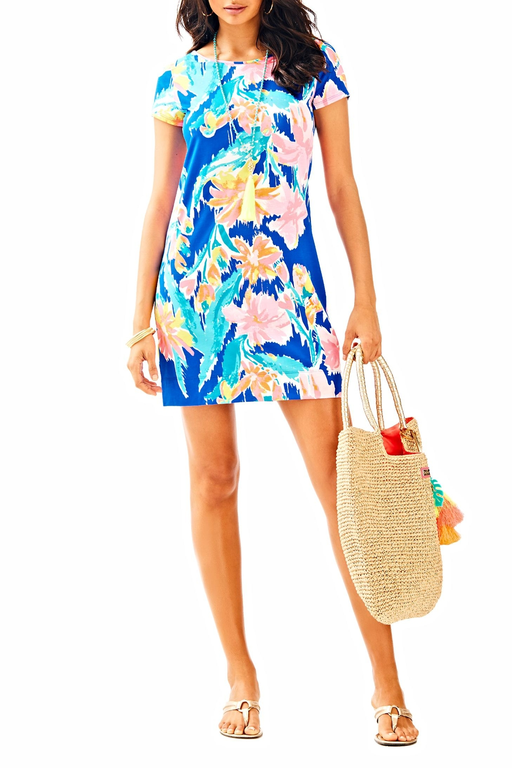 Lilly Pulitzer Marlowe Dress - Back Cropped Image