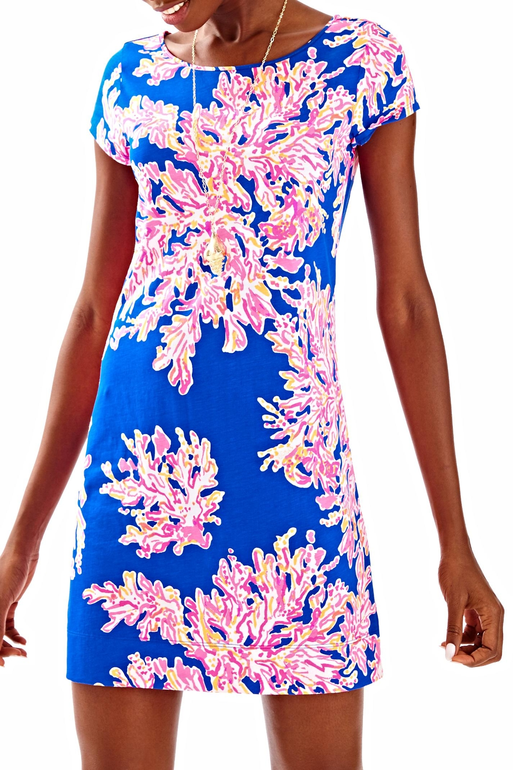 Lilly Pulitzer Marlowe Dress - Front Cropped Image