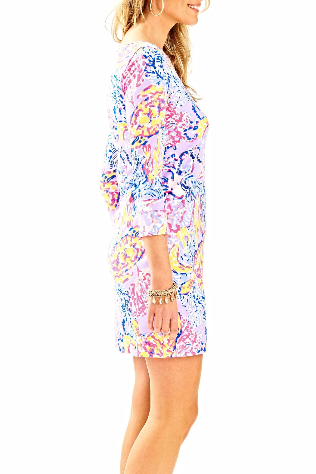 Lilly Pulitzer Marlowe Dress - Side Cropped Image