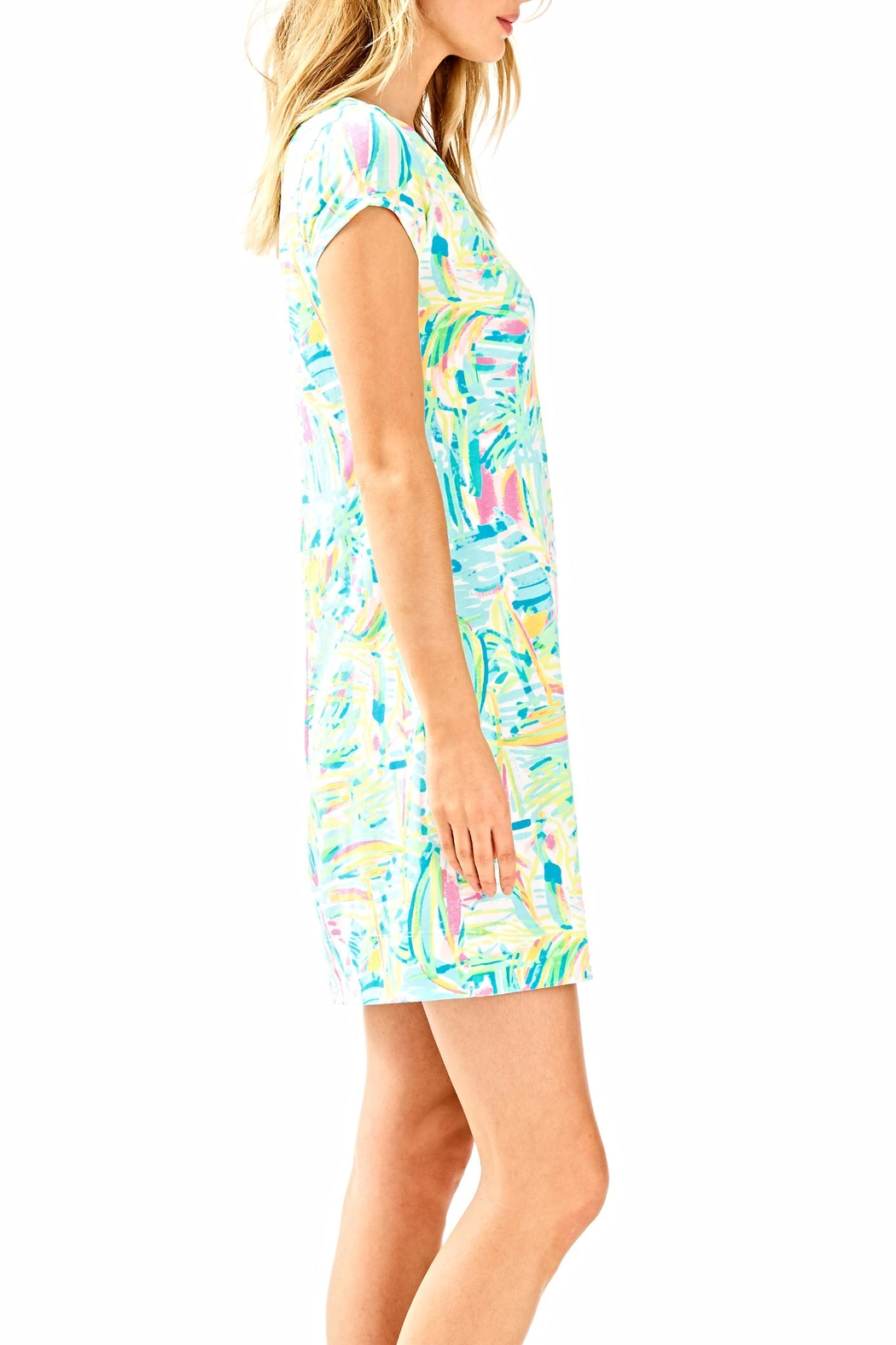 Lilly Pulitzer Short Sleeve Dress - Side Cropped Image