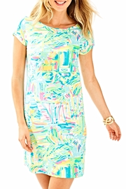 Lilly Pulitzer Short Sleeve Dress - Front cropped