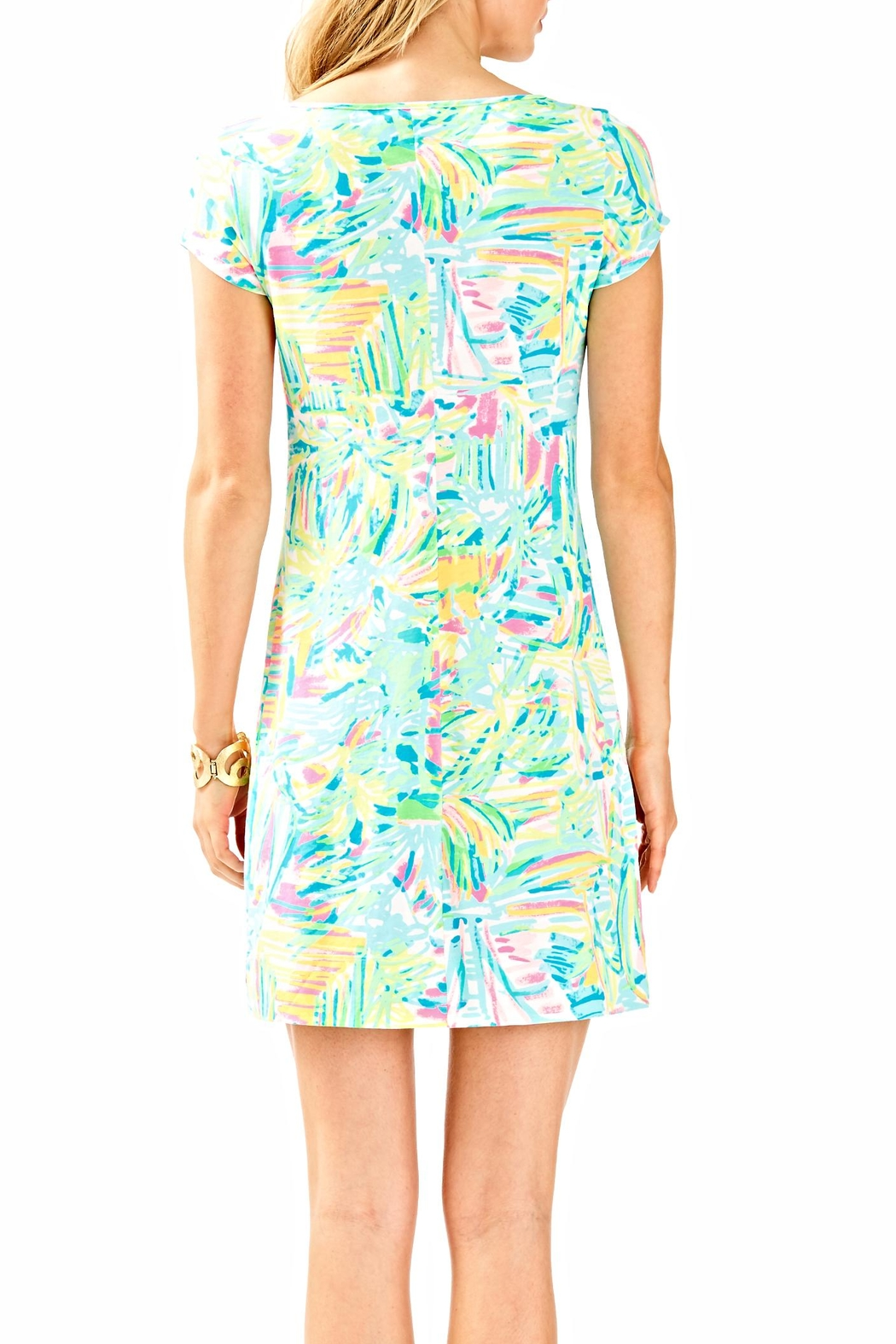 Lilly Pulitzer Short Sleeve Dress - Front Full Image