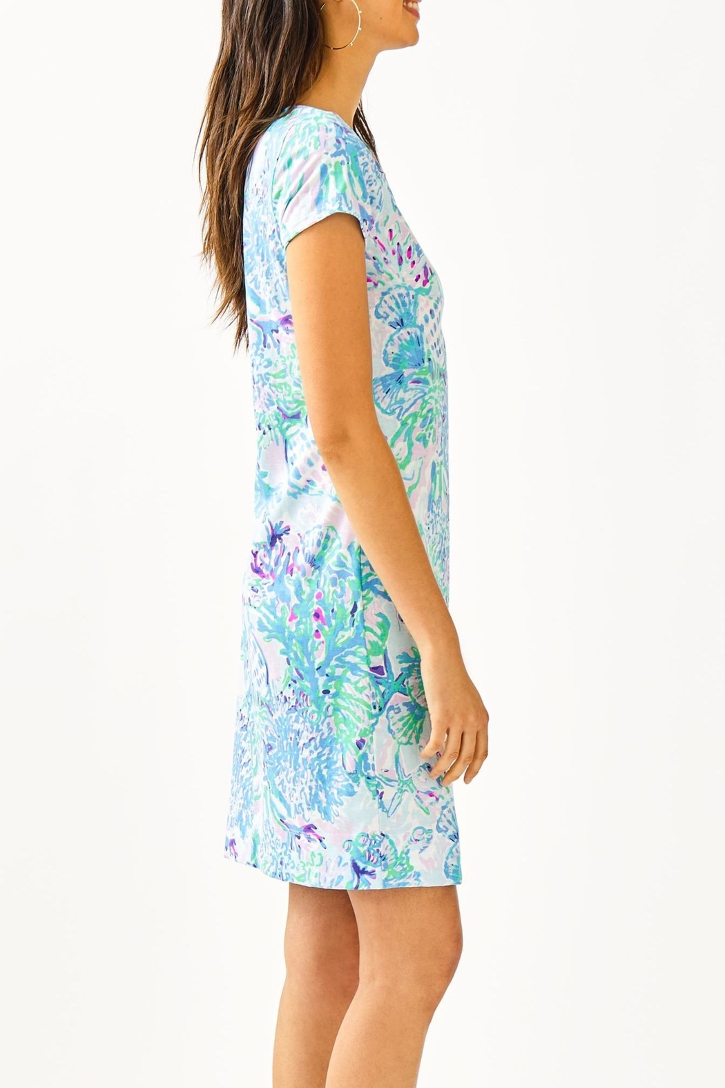 Lilly Pulitzer Marlowe T-Shirt Dress - Side Cropped Image