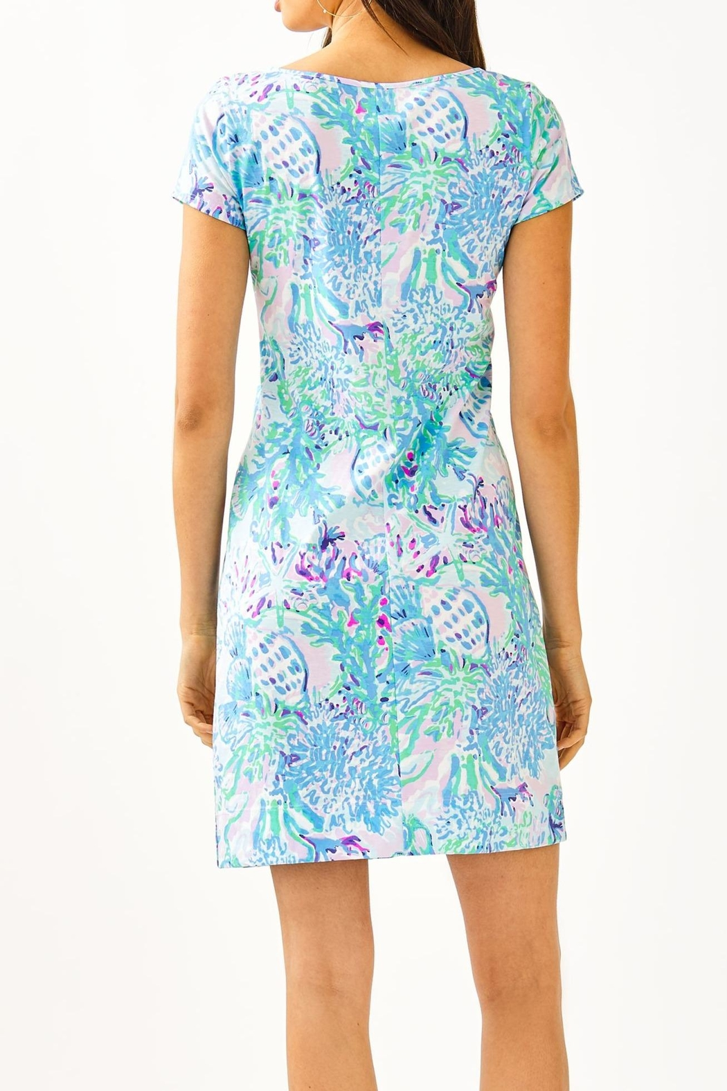 Lilly Pulitzer Marlowe T-Shirt Dress - Front Full Image
