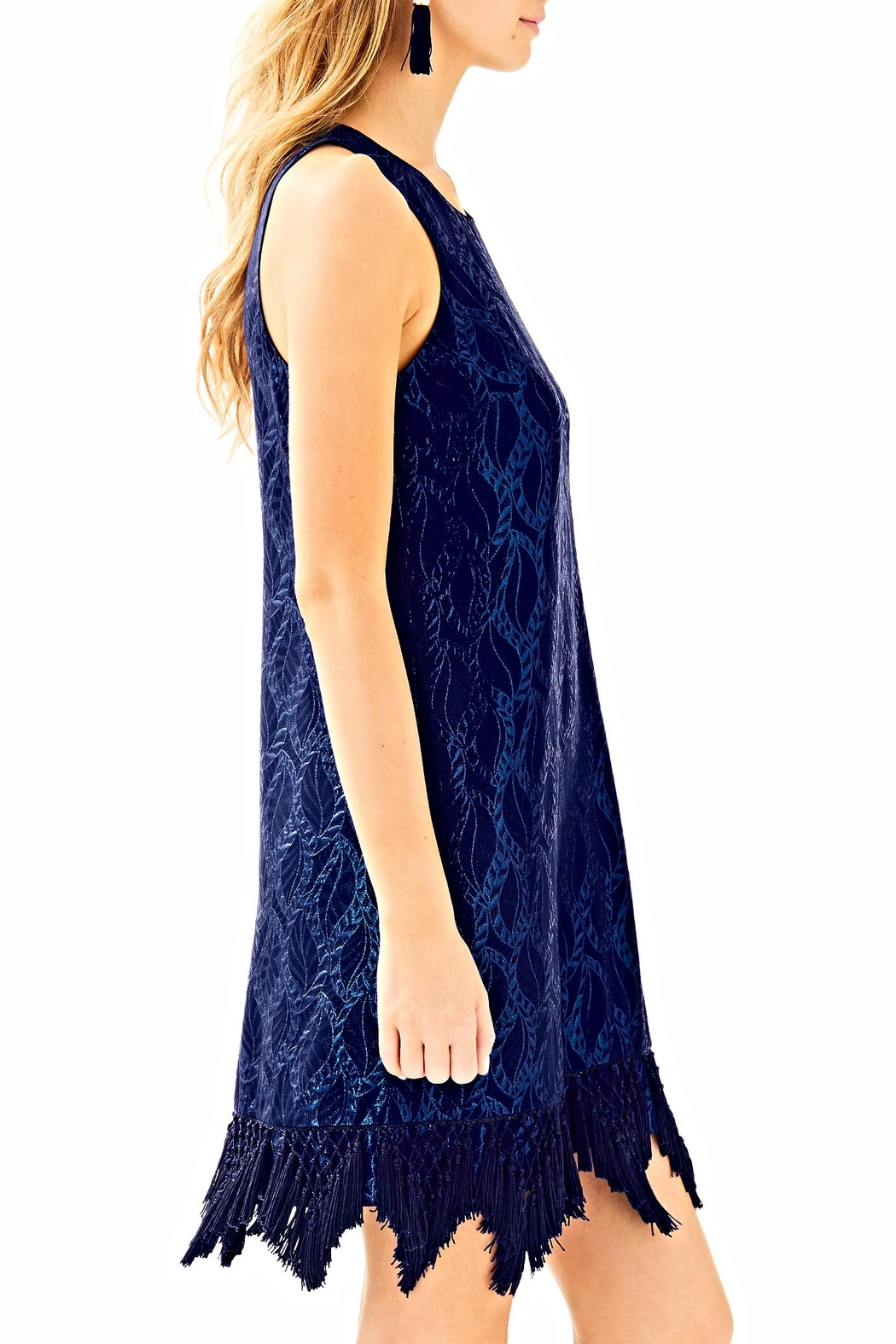 Lilly Pulitzer Marquette Shift Dress - Back Cropped Image