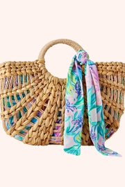 Lilly Pulitzer Marrakech Straw Tote - Product Mini Image
