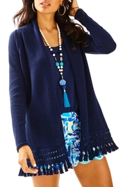 Lilly Pulitzer Martinique Fringe Cardigan - Product Mini Image