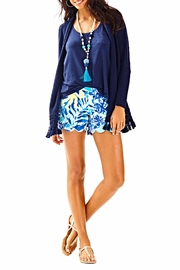 Lilly Pulitzer Martinique Fringe Cardigan - Side cropped