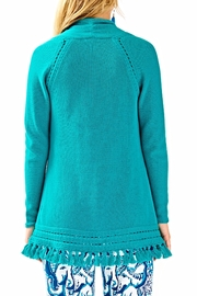 Lilly Pulitzer Martinique Fringe Sweater - Front full body