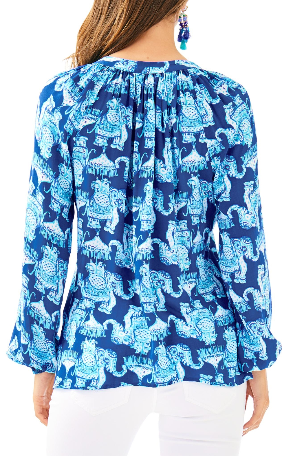 Lilly Pulitzer Martinique Top - Front Full Image