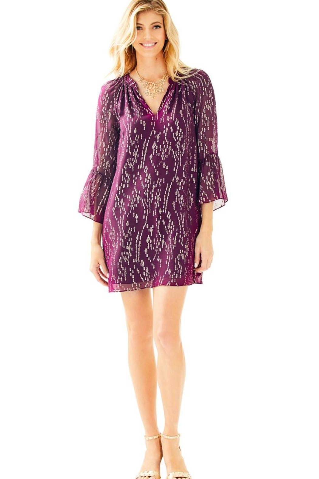 Lilly Pulitzer Matilda Silk Dress - Main Image