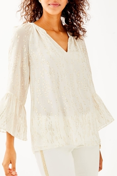 Lilly Pulitzer Matilda Silk Top - Product List Image