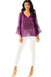 Lilly Pulitzer Matilda Silk Top - Product Mini Image