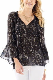 Lilly Pulitzer Matilda Silk Top - Front cropped
