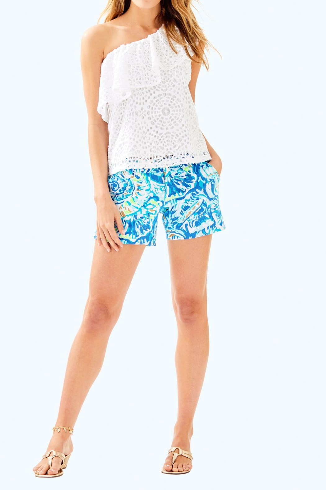 Lilly Pulitzer Matteo Top - Side Cropped Image