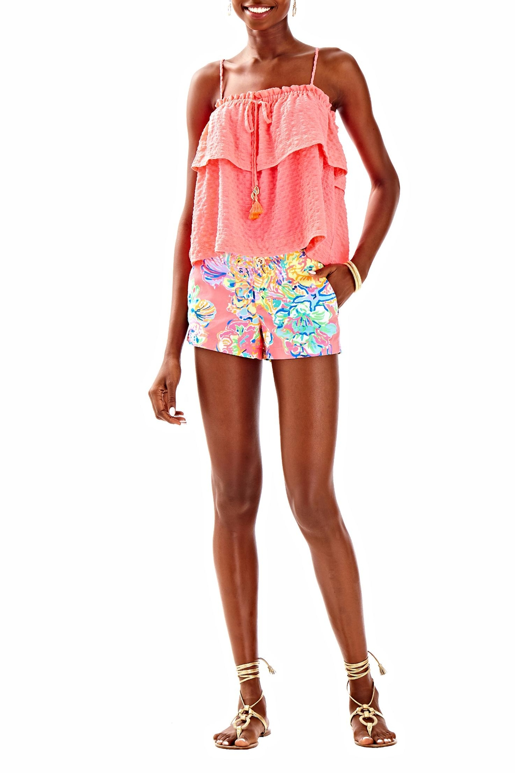 Lilly Pulitzer Mays Top - Side Cropped Image