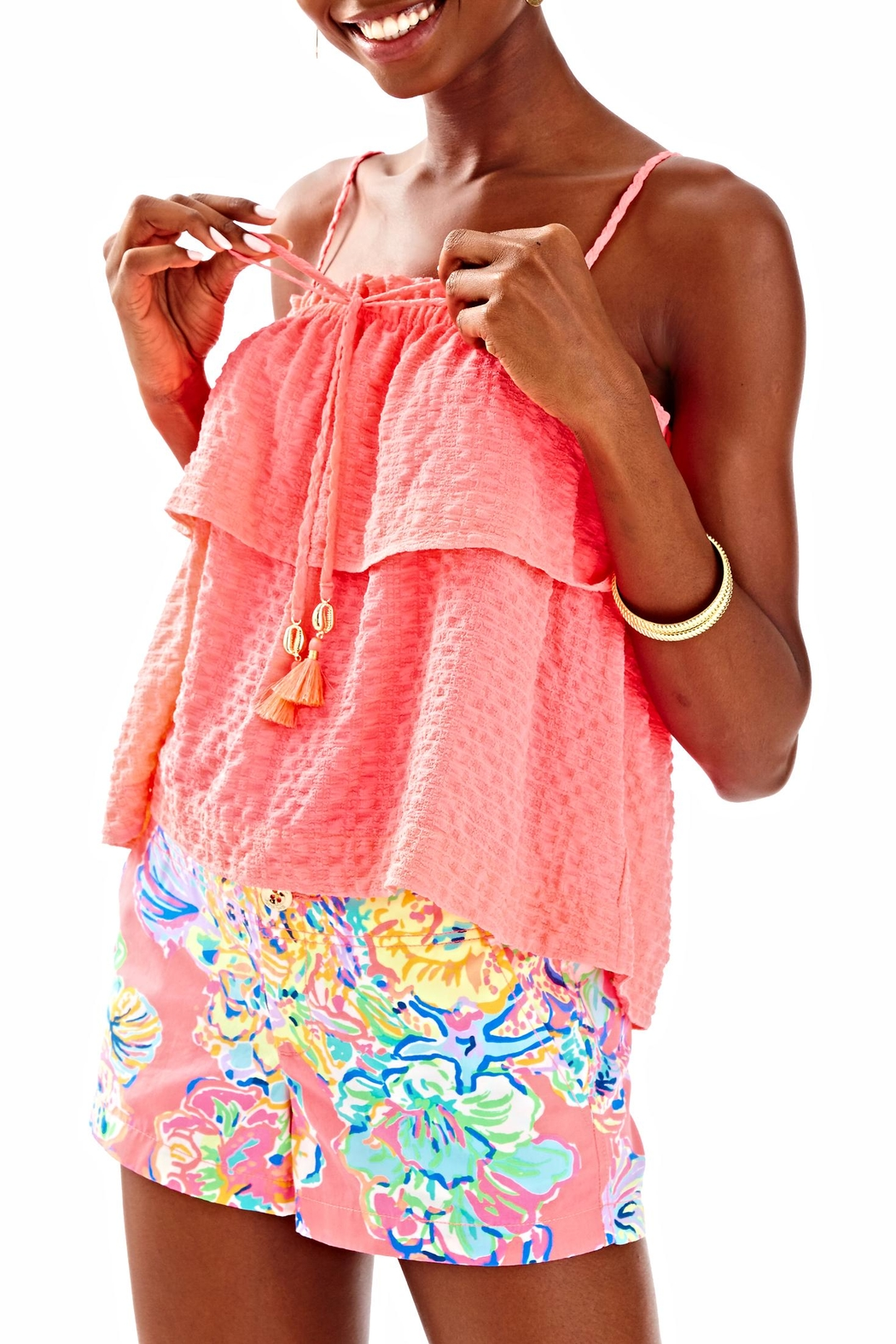 Lilly Pulitzer Mays Top - Front Cropped Image
