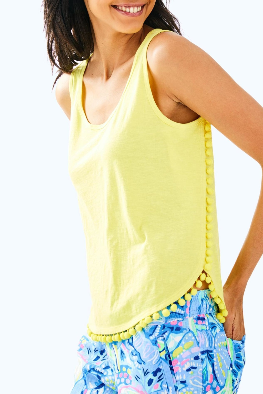 Lilly Pulitzer Mckee Top - Front Cropped Image