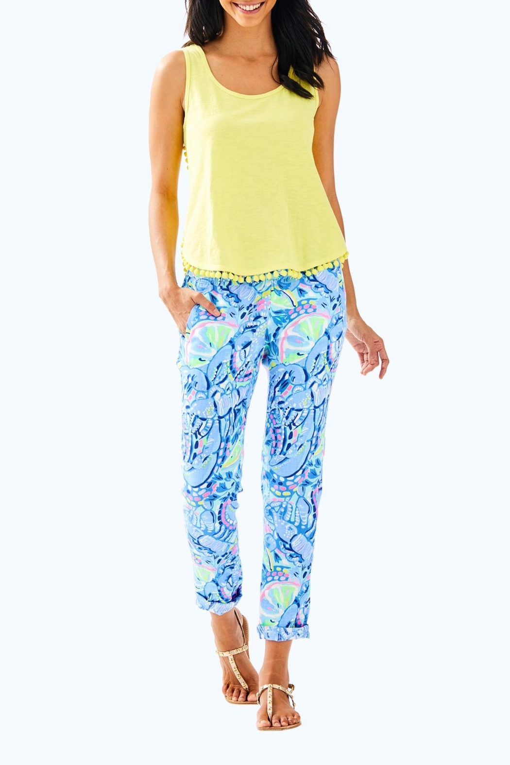 Lilly Pulitzer Mckee Top - Side Cropped Image