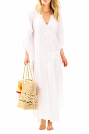 Lilly Pulitzer Embroidered Maxi Coverup - Product Mini Image