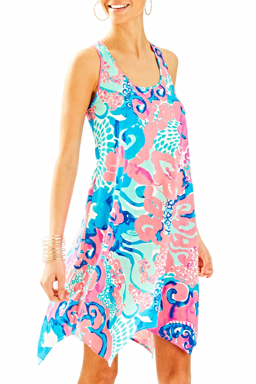f27398bea73060 Lilly Pulitzer Melle Trapeze Tank Dress from Sandestin Golf and ...