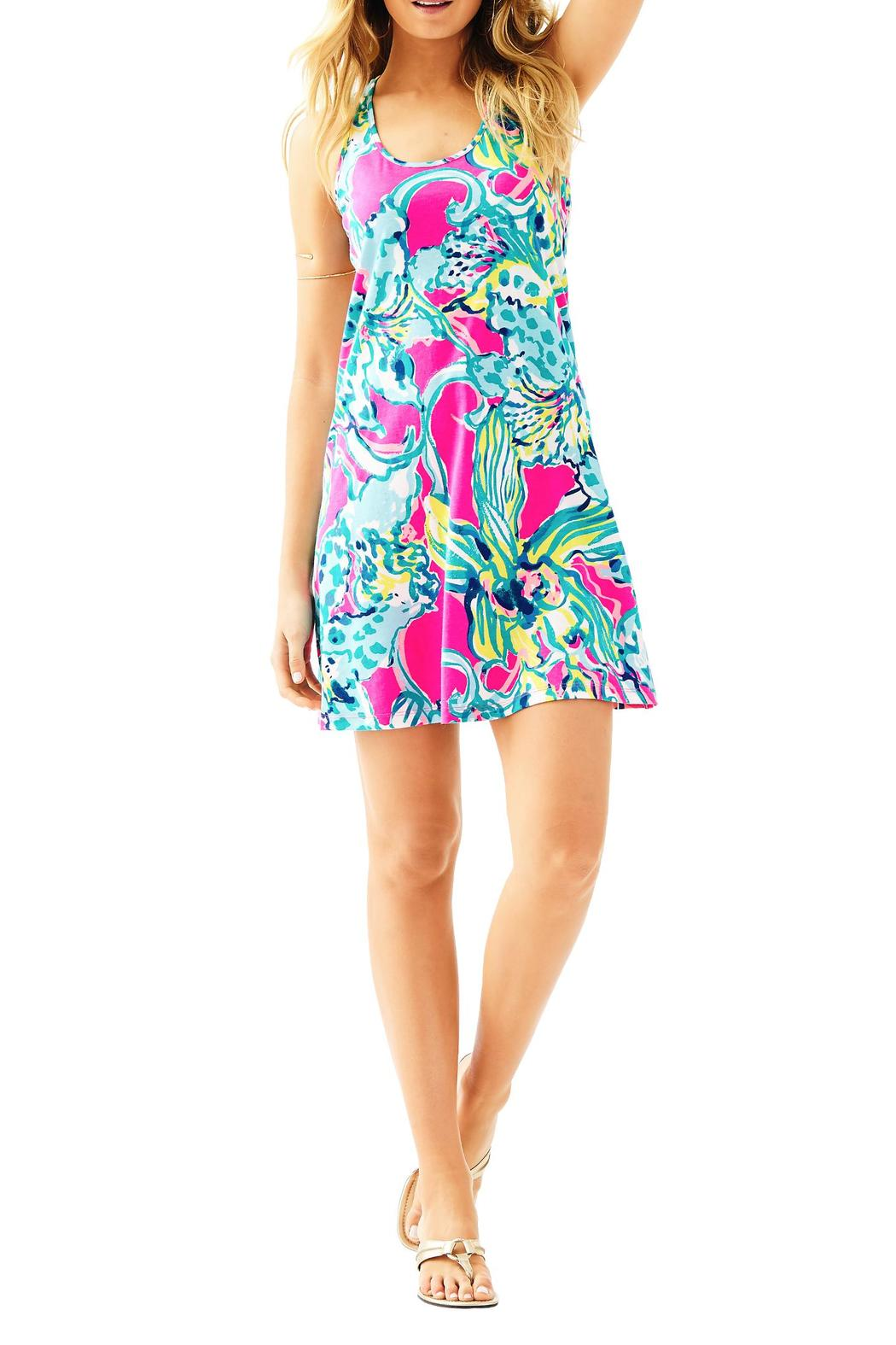 Lilly Pulitzer Melle Trapeze Tank Dress From Sandestin