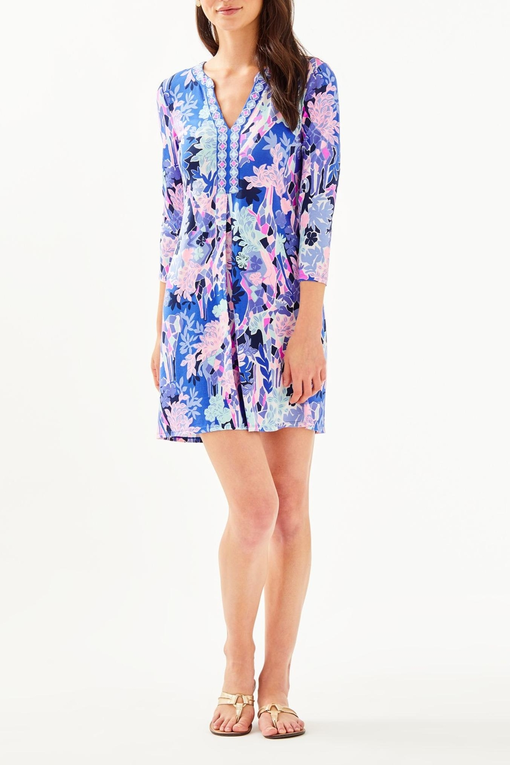 Lilly Pulitzer Melli Dress - Back Cropped Image