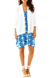 Lilly Pulitzer Melly White Cardigan - Product Mini Image