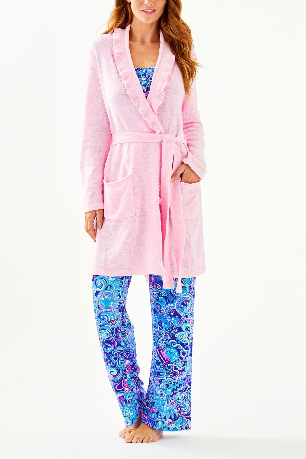 Lilly Pulitzer Melville Rober - Side Cropped Image