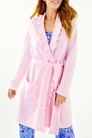 Lilly Pulitzer Melville Ruffle Robe - Product Mini Image