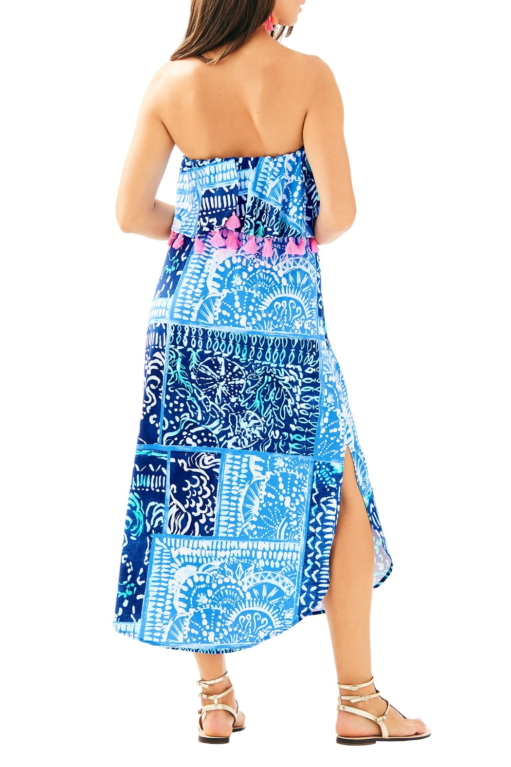 Lilly Pulitzer Meridian Midi Dress - Front Full Image