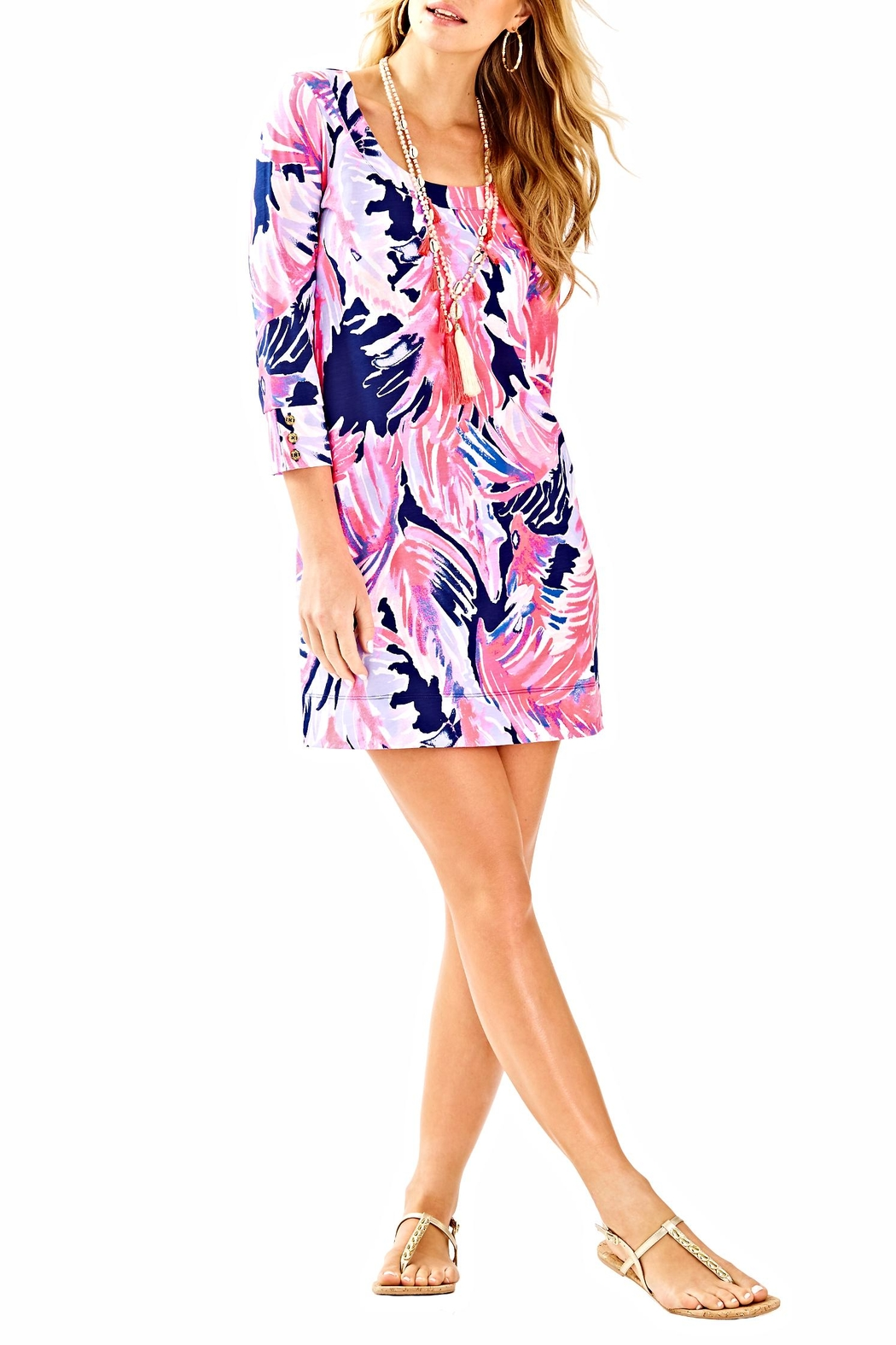 Lilly Pulitzer Merrit Dress - Back Cropped Image