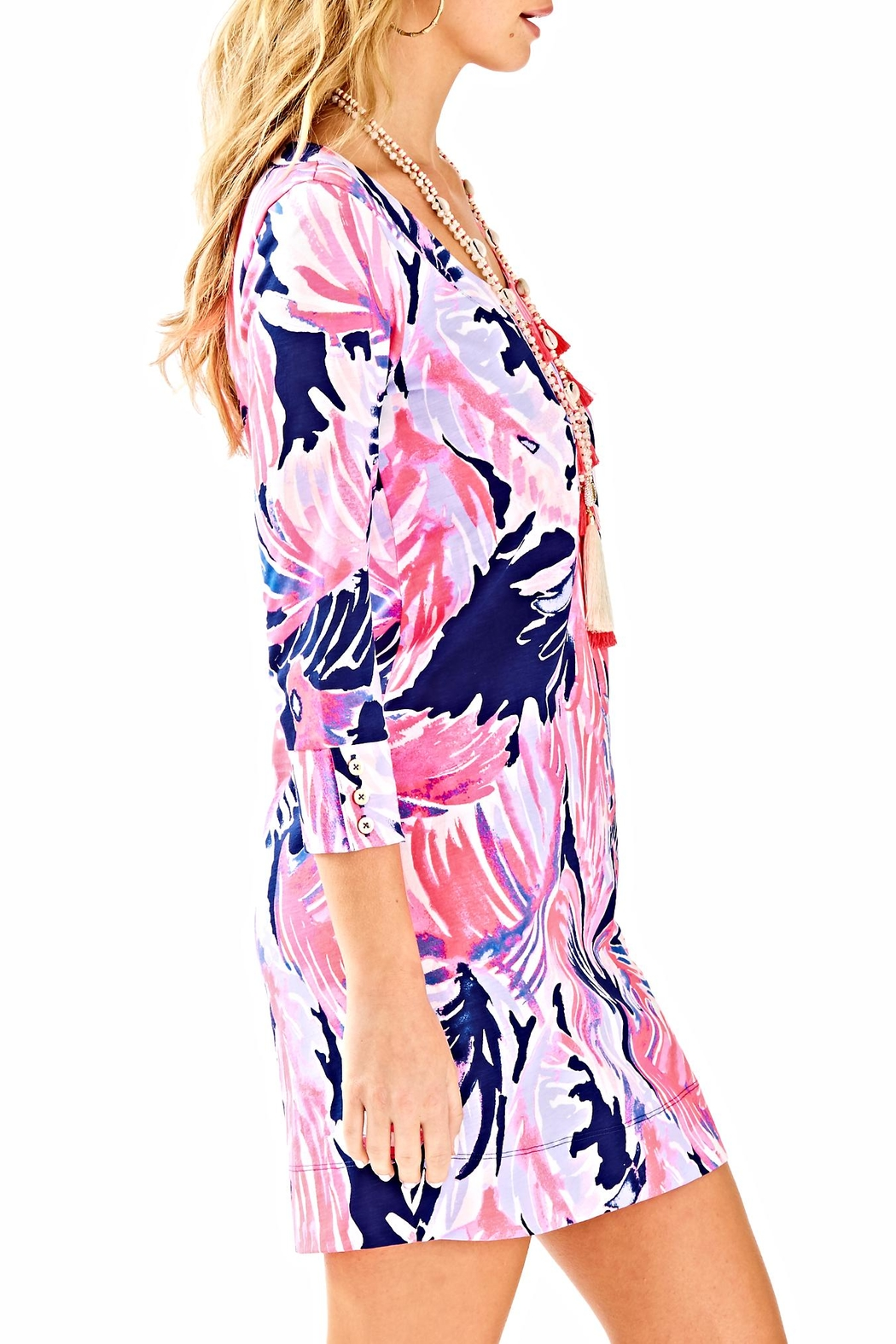 Lilly Pulitzer Merrit Dress - Side Cropped Image