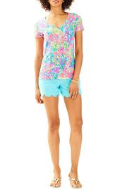 Lilly Pulitzer Michele V-Neck Top - Product Mini Image