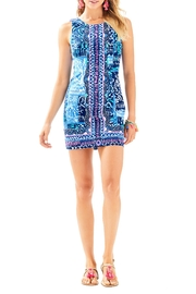 Lilly Pulitzer Mila Shift Dress - Back cropped